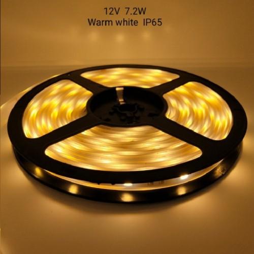 Ρολό LED ταινίας – LED Strip - IP65 - 5m - Warm white - 891209