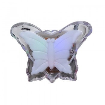 Φωτάκι νυκτός LED πεταλούδα - RGB - 896535