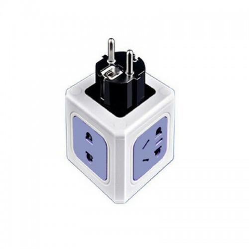 Πρίζα 3X - EU Plug - Power Cube - LD001