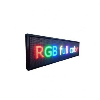 Πινακίδα LED – Μονής όψης – RGB – 71cm×23cm